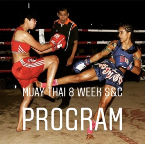 Muay Thai 8 Week Strength and Conditioning Training Template 1