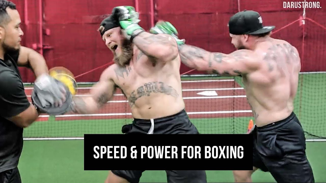 boxing drills for speed and power
