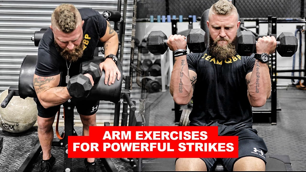arm exercises to increase punching power