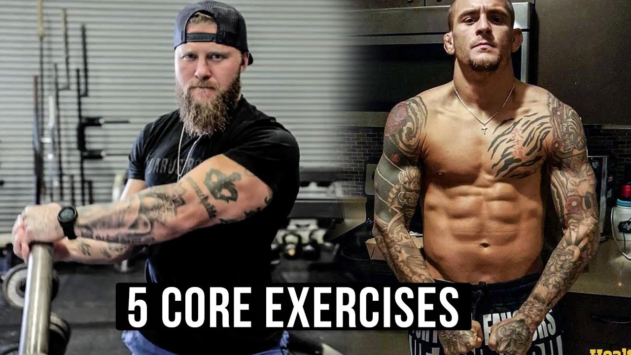 5 core exercises for mma