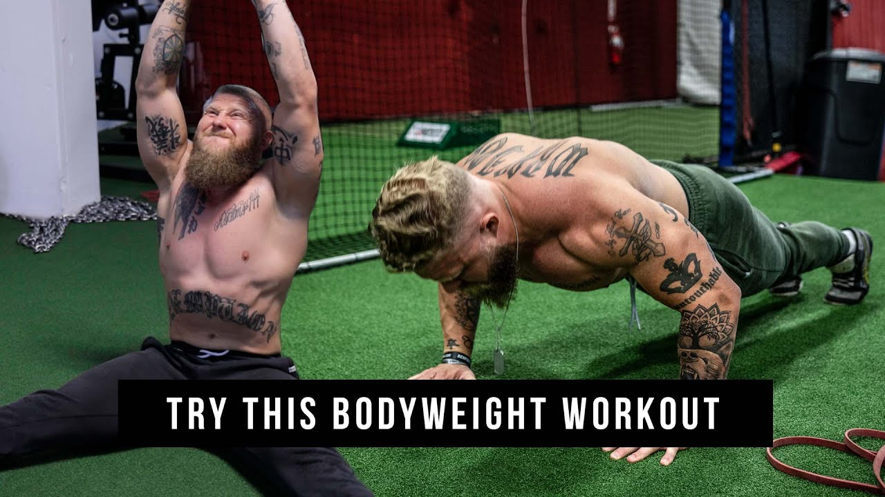 home bodyweight workout for mma