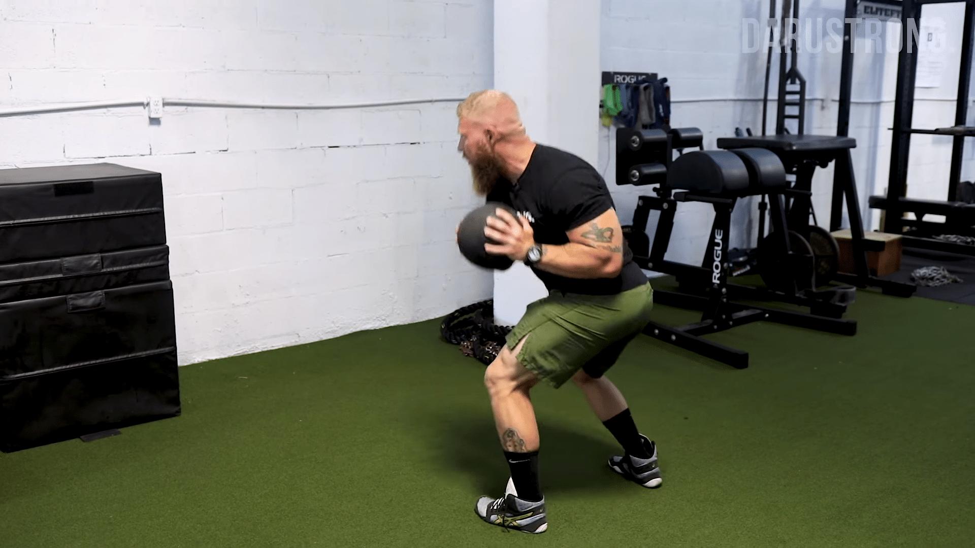 straight arm throw exercise